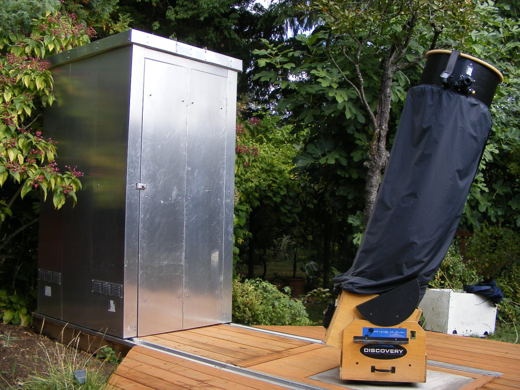 astroclosets your custom backyard observatory